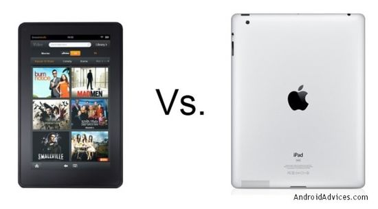 Amazon Kindle Fire vs Apple iPad 2