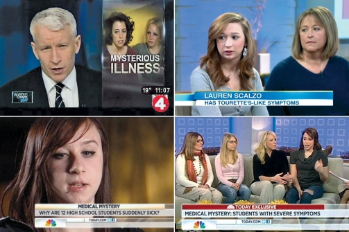 Hosts of ABC's Good Morning America, NBC's The Today Show, Dr. Drew and Anderson Cooper 360 have interviewed some of the high school girls from Le Roy, N.Y.