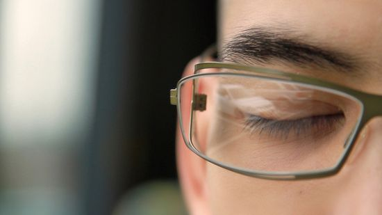 Transcendenz lens includes the electronic chip or brain
