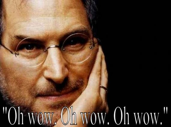 Steve Jobs' last words, 'Oh wow, Oh wow, Oh wow!'