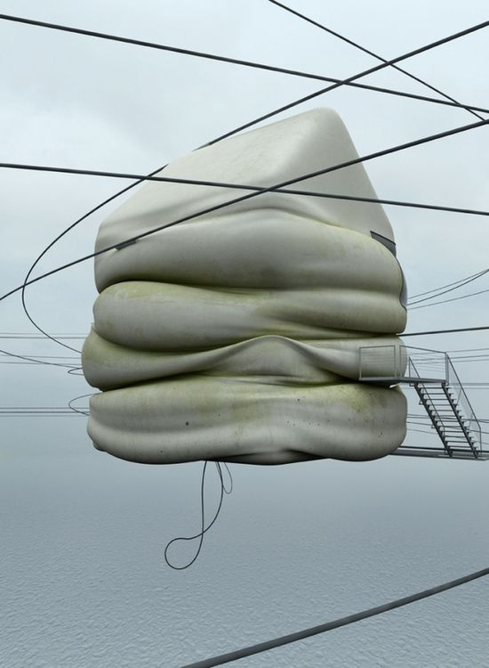 Concrete Misplots - Marginal architectures of the future by German designer Zeitguised - 3