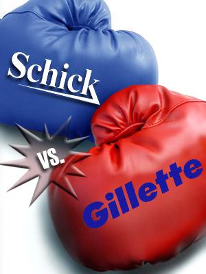 Schick versus Gillette Shaving Wars