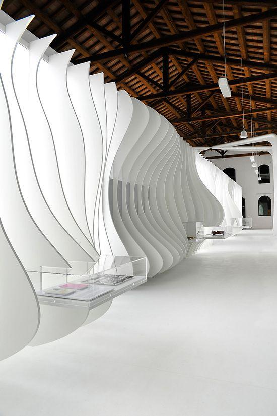 New Enzo Ferrari Museum looks like the hood of a hot sports car 4