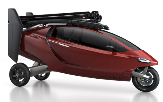 Personal Air and Land Vehicle or PAL-V can be configured as a three-wheeled car or gyrocopter