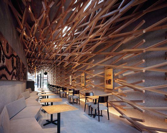 Kengo Kuma's ultra-cool new Japanese Starbucks 5
