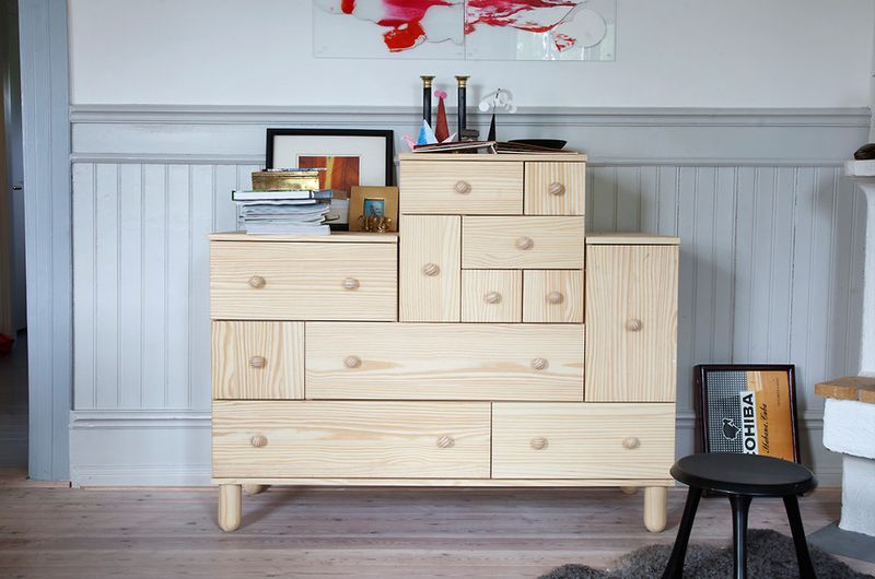 IKEA PS Collection for 2012 - Chest of pine drawers by Ehlen Johansson - $399