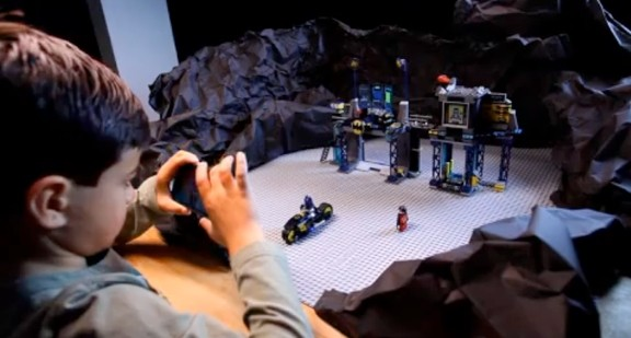 LEGO Super Hero Movie Maker allows your child to setup their own scenes than take individual images of each to form a movie