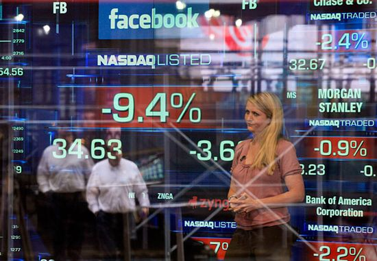 Angry facebook investors