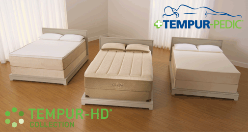 Tempur Pedic TEMPUR-HD collection is the ultimate mattress, TEMPUR-HD material, med-firm to med-soft feel, comes in three models, Allurabed, Grandbed and RhapsodyBed