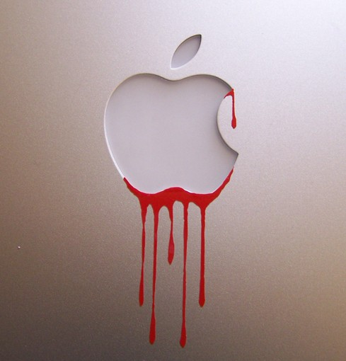 Apple is tainted with the blood of countless of Chinese plant workers working under deporable and dangerous conditions