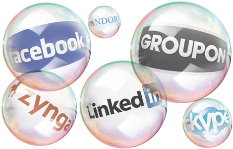 Social Media Stock Bubble