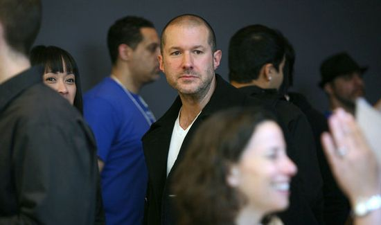 Jonathan Ive, Senior Vice-President of Industrial Design at Apple was knighted by Queen Elizabeth