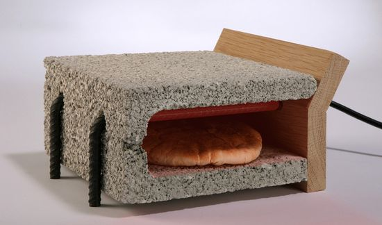Adi Zaffran's cinder block and rebar toaster 1