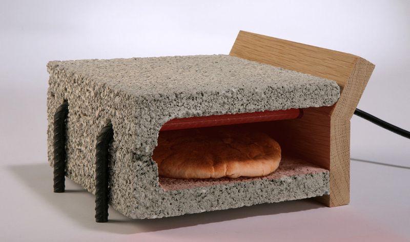 Adi Zaffran's cinder block and rebar toaster 1