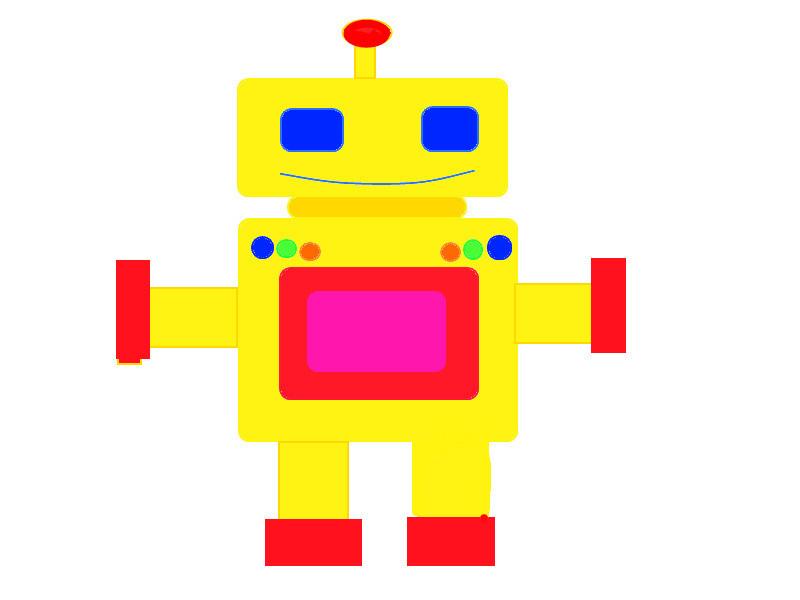 Kids robot drawing 2