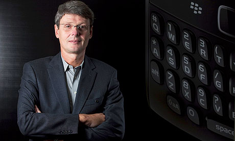 New RIM chief executive Thorsten Heins faces the challenge of keeping existing customers happy while moving into the touchscreen era
