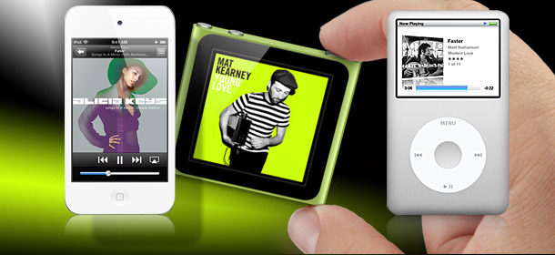 Apple iPod Multi-Touch, Nano and Classic for 2011