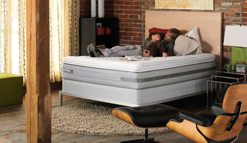 New Sealy Posturepedic mattress differentiates itself from other mattresses with ticker profile