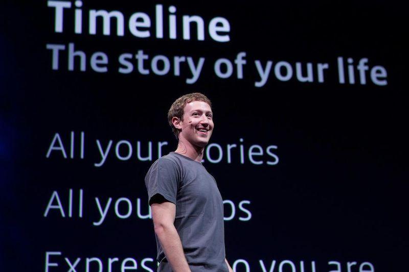 Facebook CEO Mark Zuckerberg unveils Timeline