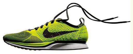 Nike Unveils the Flyknit shoe. A big new paradigm. Shoes knit like socks 2