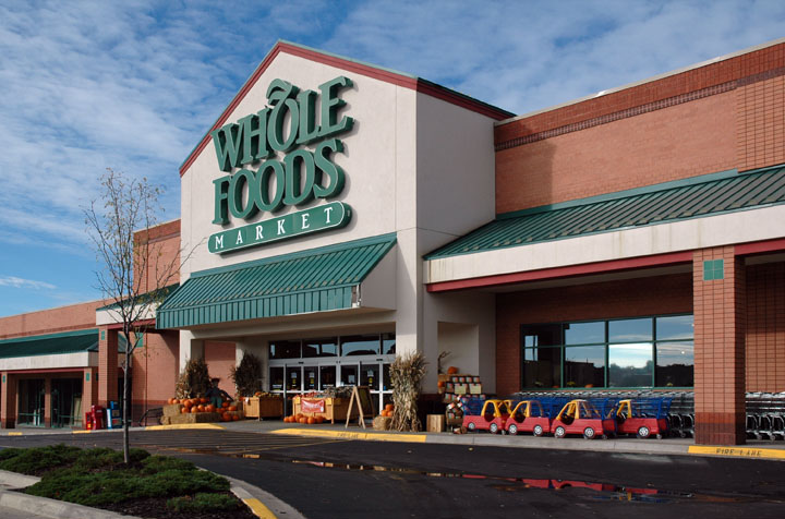 A typical Whole Foods Market