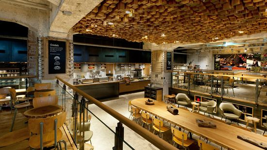Starbucks concept store in Amsterdam is a lab for reinventing the brand 1
