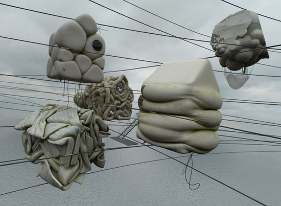 Concrete Misplots - Marginal architectures of the future by German designer Zeitguised - 6