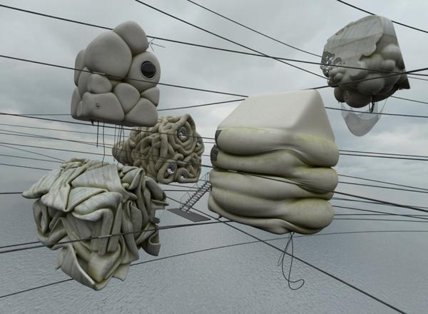 Concrete Misplots - Marginal architectures of the future by German designer Zeitguised - 6