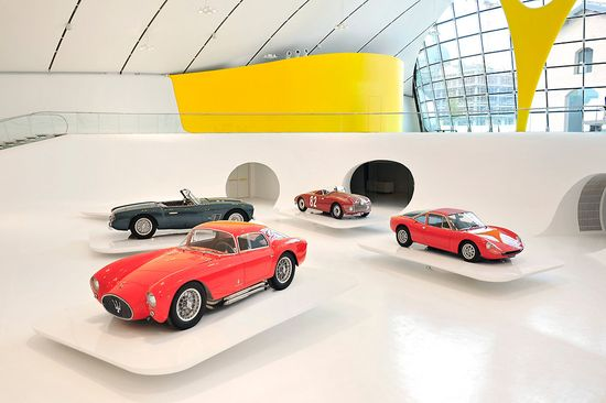 New Enzo Ferrari Museum looks like the hood of a hot sports car 3