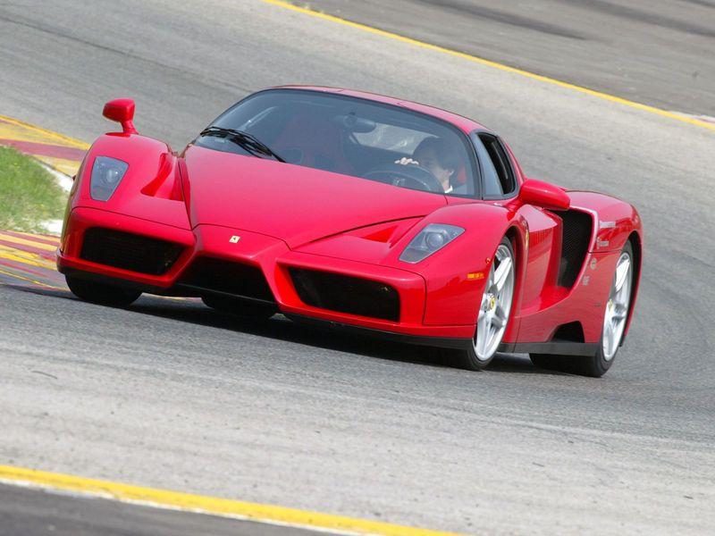 The Ferrari Enzo was dedicated to the late Enzo Ferrari, founder of Ferrari Motors