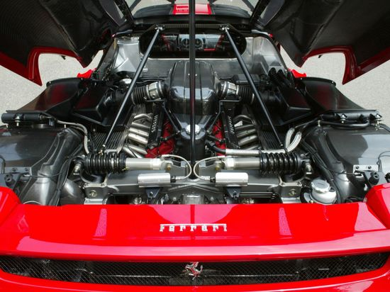 The Ferrari Enzo was dedicated to the late Enzo Ferrari, founder of Ferrari Motors 3