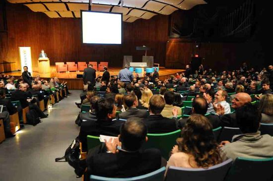 On April 5, 2012, nearly 1,000 attendees, including 500 VC's, met at MIT's Kresge Auditorium for 'VC65,' which was organized by the NVCA and MIT Museum