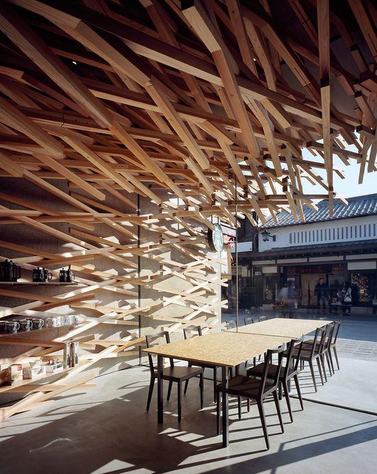 Kengo Kuma's ultra-cool new Japanese Starbucks 7