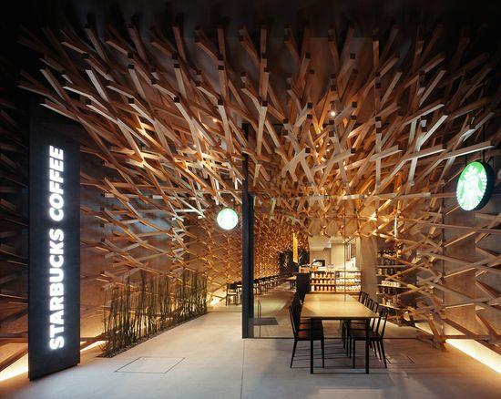 Kengo Kuma's ultra-cool new Japanese Starbucks 8