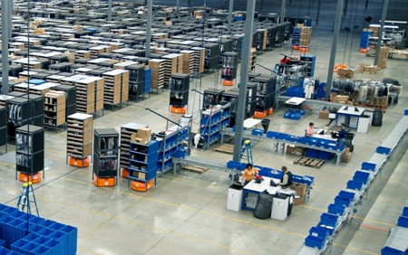 Saks Direct order fulfillment warehouse