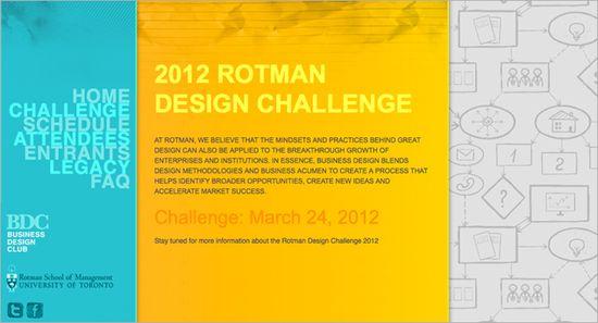 Rotman Design Challenge 2012