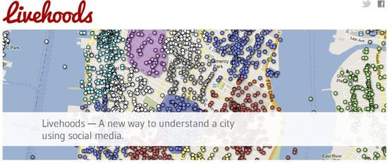 Livehoods - Understanding cities using location-based social media