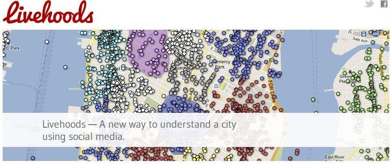 Livehoods - Understanding cities using location-based social media