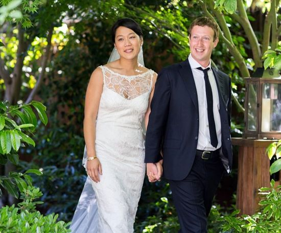 Mr. and Mrs. Mark Zuckerberg - Mark and Priscilla Chan