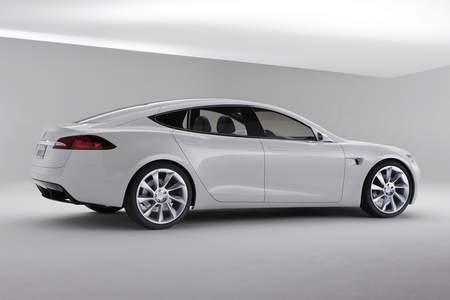 Tesla Motors Model S sedan 2