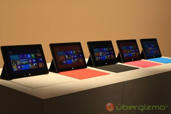 Microsoft Surface tablet computer comes with keyboards in five awesome pastel colors