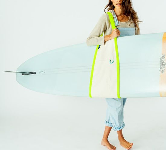 In August, Baggu will begin selling a surf sling that can also be used to lug boxes, canvases, pictures, and a number of other hard-to-contain objects