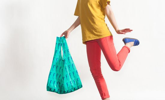 The idea behind Baggu began in late 2006, when while working at C.J. Crew, Sugihara's mom helped Emily sew some bags for her friends