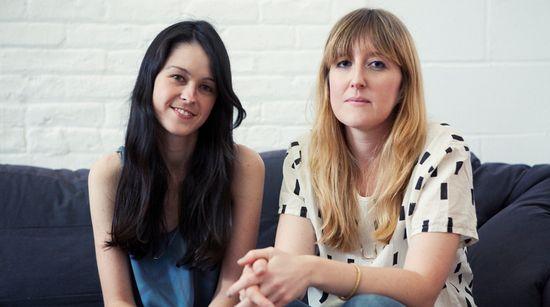Emily Sugihara (left) founder of Baggu with Ellen van der Laan (right) who joined Baggu as creative director in 2008
