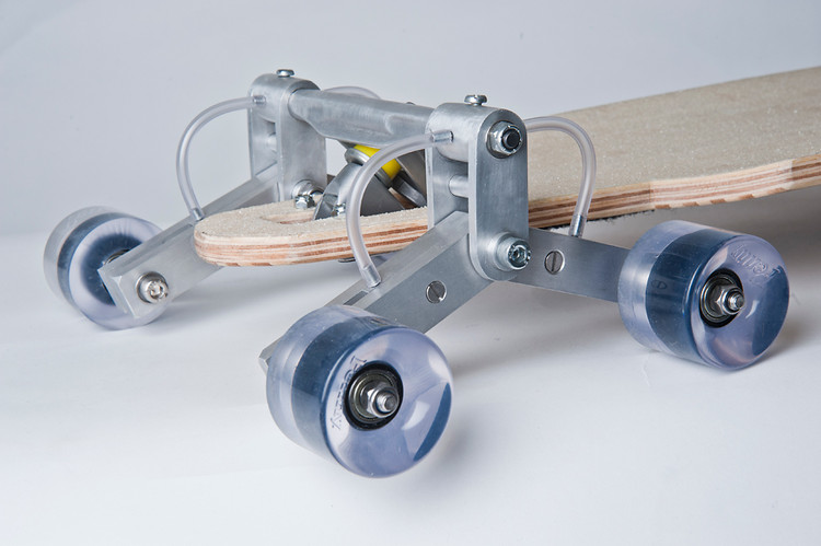 Stair Rover by Po-Chih Lai (close-up of wheel assembly)