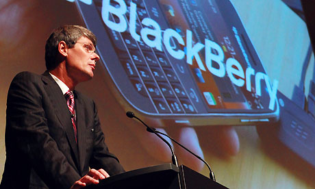 RIM CEO Thorsten Heims announces hiring of investment bankers to sell BlackBerry platform all or in parts