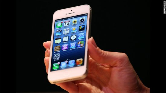 The iPhone 5 looks similar to previous models but has a larger screen and is lighter and thinner than the iPhone 4S