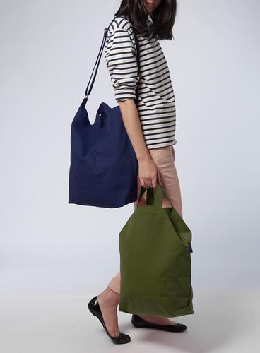Baggu designed this $8.00 designer grocery bag
