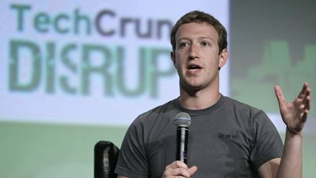 Facebook CEO Mark Zuckerberg emphasized Facebook's mobile-centered future at TechCrunch Disrupt 2012, in his first public interview since the IPO