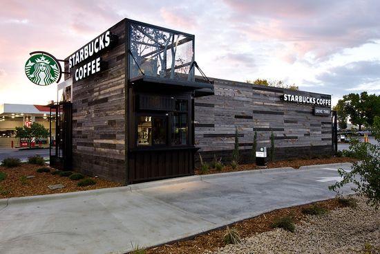 Starbucks new small, portable and hyper-local store in Denver, Colorado 1